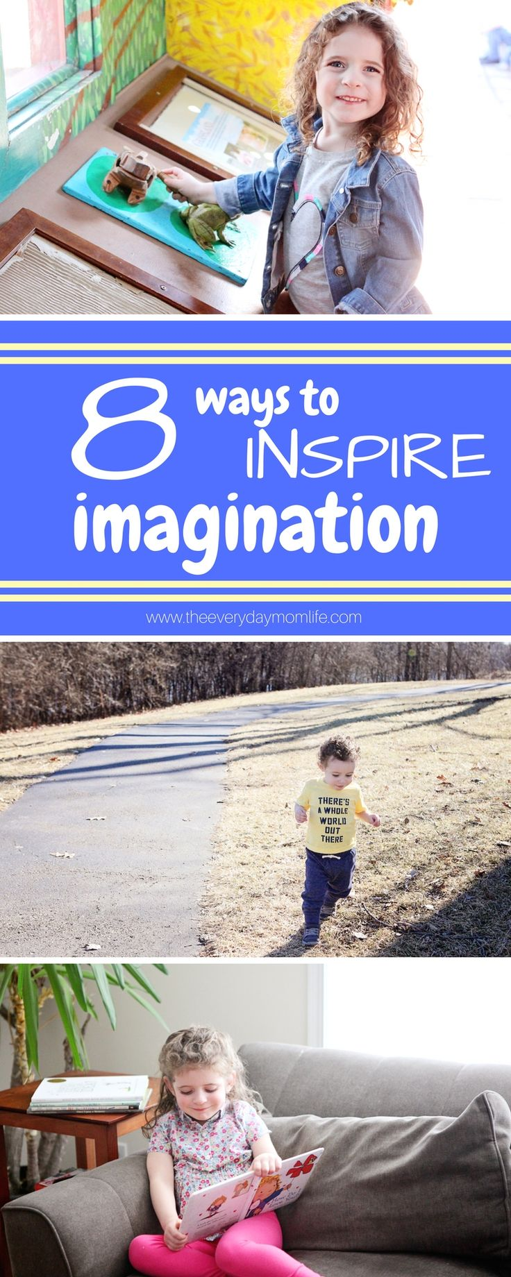 8 Ways To Inspire Your Children's Imaginations all year long in perfect play clothes from Kohl's. AD @Kohls #PlayAllDay @Carters