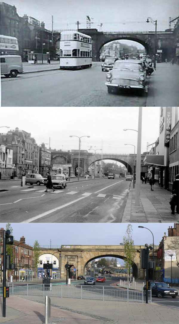 wicker arches history, trams to present day