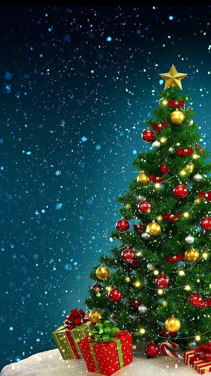 Download Christmas Tree Wallpaper By Georgekev C1 Free On Zedge Now Browse Merry Christmas Wallpaper Christmas Wallpaper Free Christmas Wallpaper Android
