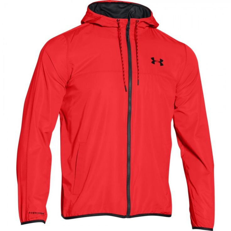 Pánská červená sportovní bunda Under Armour