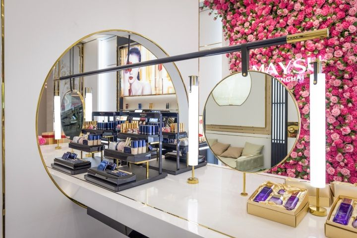 MAYSU Oriental Garden Boutique Store by Design Overlay, Xuzhou – CHINA » Retail Design Blog