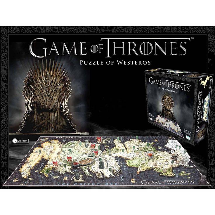 """Game Of Thrones Lautapeli """"Puzzle of Westeros"""" • EMP.fi 49,99€"""