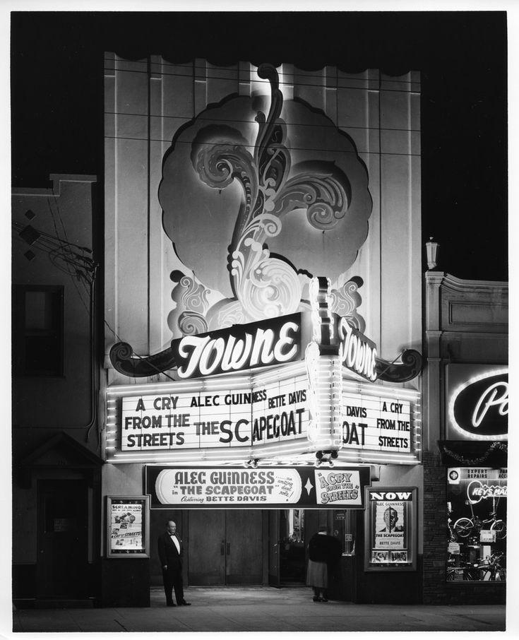 Towne Theatre on The Alameda in San