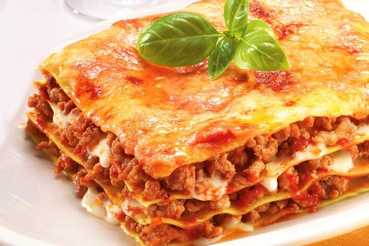 Рецепт Лазанья с фаршем, приготовление лазаньи, ингредиенты.