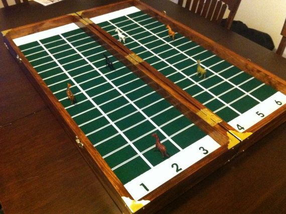 Back by popular demand - Now taking orders for your special Horse Race Game.