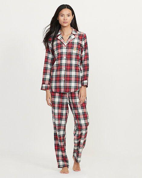 Lauren - Pyjamaen cotonécossais