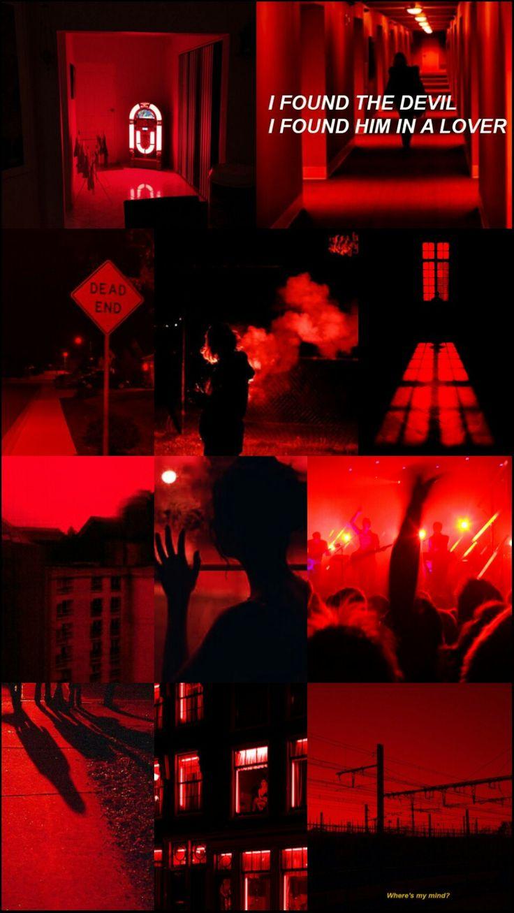 pinterest red aesthetic wallpaper Red aesthetic
