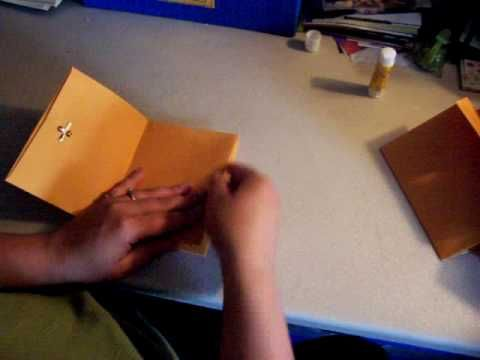 Mini Book How-to - Accordion book, 6x9 envelopes, very simple