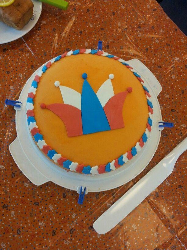 Dutch kings day cake