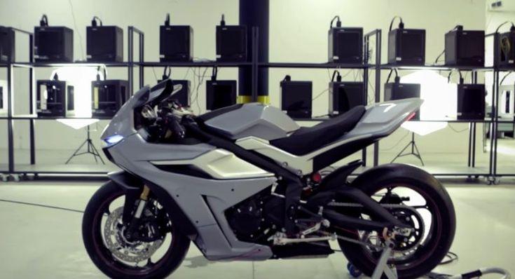 Zotrax, sepeda motor sport dibuat dari printer 3 dimensi (Zortrax)