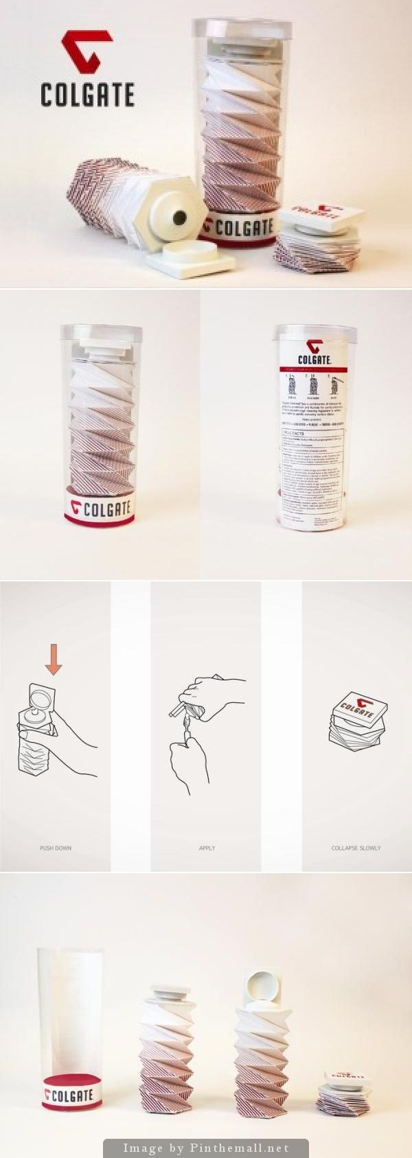 Good idea or excessive #packaging PD - created via http://creativegreed.com/toothpaste-dispenser-packaging-design-will-make-life-easier-see/
