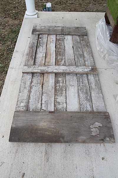 DIY sliding barn wood door. Will be creating for new room under construction! Stained and homemade!