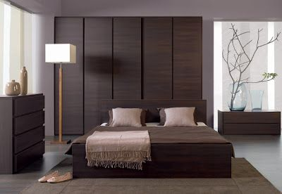 Latest modern bedrooms in brown color