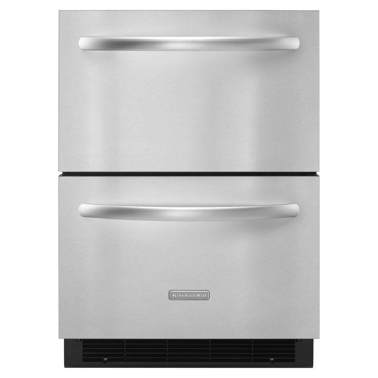 Refrigerator drawers small refrigerator