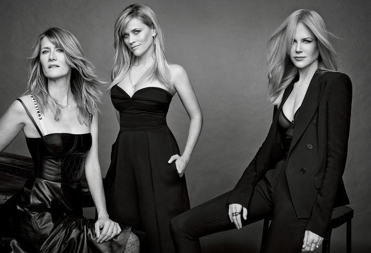 Laura Dern, Reese Witherspoon, and Nicole Kidman, photographed in Los Angeles. Photograph by Mark Seliger.