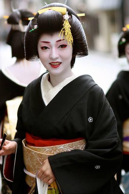 Geiko Kikutsuru of Miyagawacho