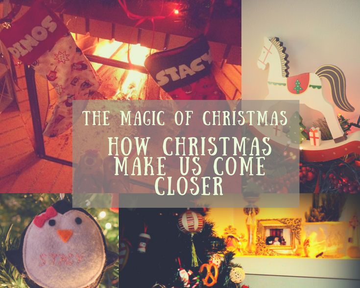 Christmas make us come closer!
