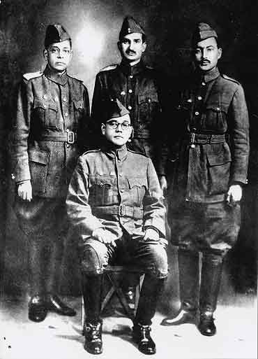 The 'Indian National Army' or 'Azad Hind Fauj' formed under the brilliant vision of the great Indian hero 'Netaji' Subhash Chandra Bose is ...