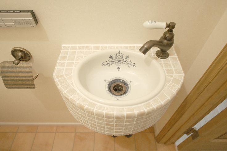 トイレ/サニタリー/インテリア/手洗い/いえラボ/リフォーム/リノベーション/toilet/restroom/natural/design/interior/house/homedecor