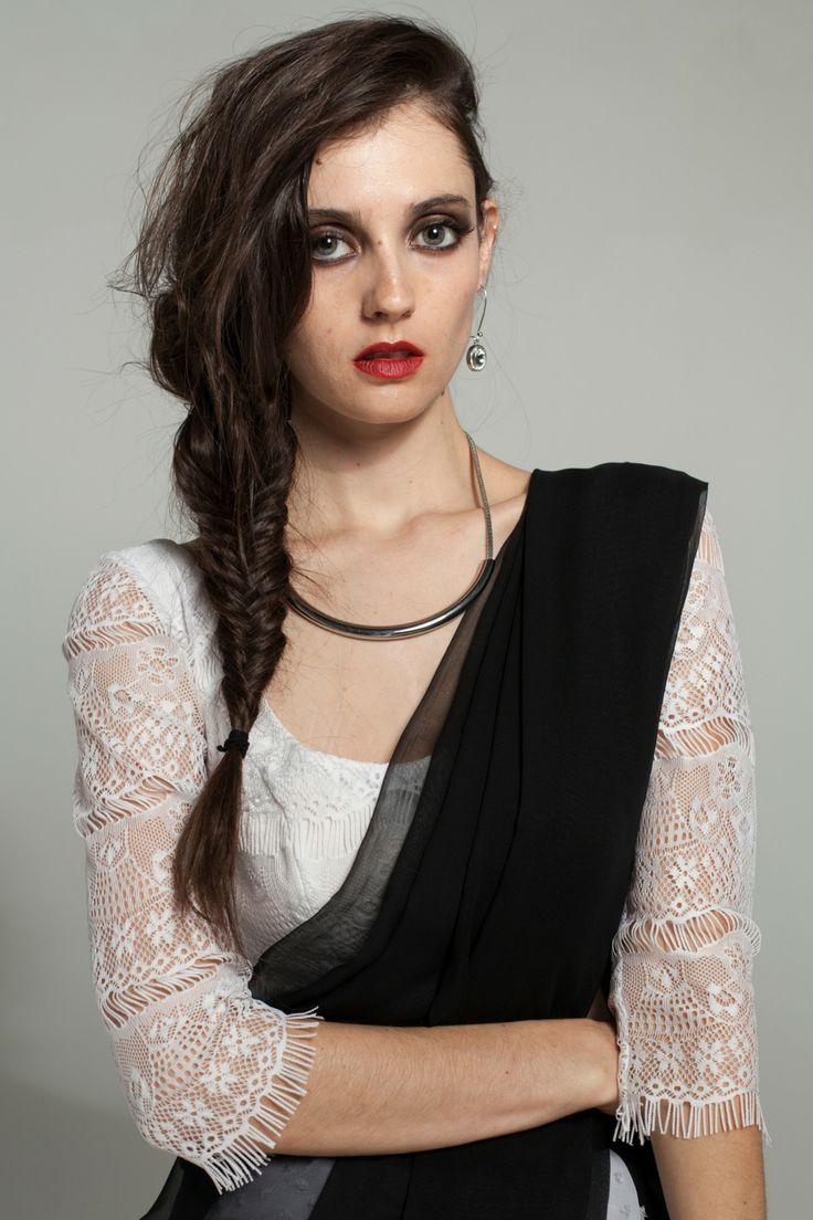 Katerina P. White Blouse