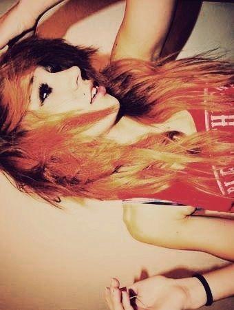 fiery // red // orange ♥