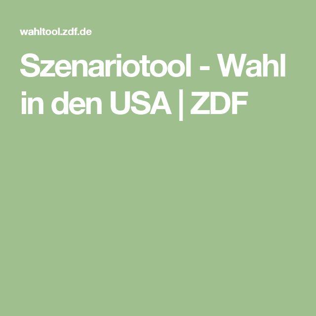 Szenariotool - Wahl in den USA | ZDF
