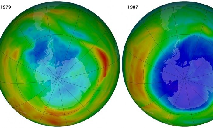 Thirty years on, scientist who discovered ozone layer hole warns: 'it will still take years to heal' http://gu.com/p/47jcm/stw