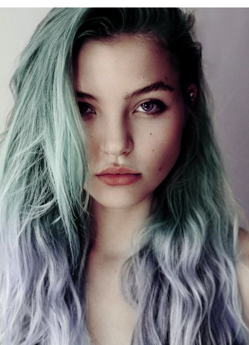 Funky Pastel Hair, a great way to stand out this summer!!
