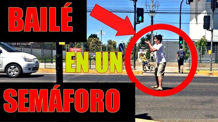 BAILÉ EN LA CALLE !! RETOS LOCOS!! - YouTube