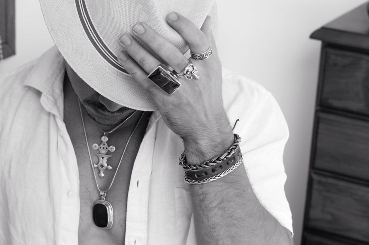 Sunday sessions. Inspired Tribe. Men's jewellery shoot.