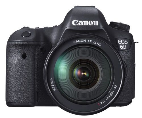 Les meilleurs appareils photo selon les TIPA Awards 2013 : Canon EOS 6D - Meilleur reflex expert