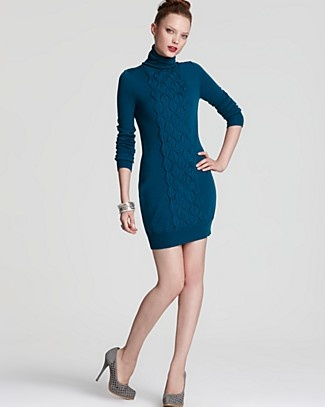 Diane von furstenberg dress:)...just ordered this as a perfect winter work outfit...hope it fits!