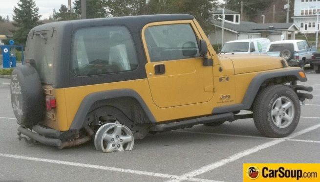 Driving Fail Of The Day Jeep Wrangler Yj Jeep Jeep Wrangler Unlimited