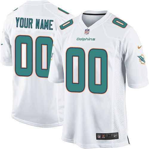 nfl jersey made in honduras nike elite white youth jersey customized miami dolphins nfl road