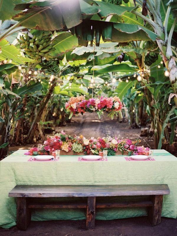 Tropical Banana Orchard Wedding Inspiration : Bajan Wed