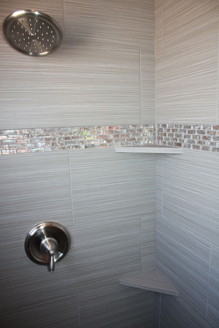 Photo Album Website Tile design in master bathroom shower