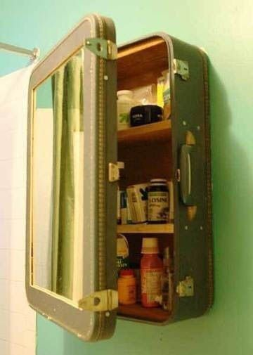 Re-Purposed Bathroom Storage Solutions! | Decorating Your Small Space