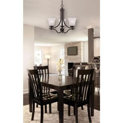 83 westinghouse wensley 3 light oil rubbed bronze chandelier 6220000 the home depot kitchen. Black Bedroom Furniture Sets. Home Design Ideas