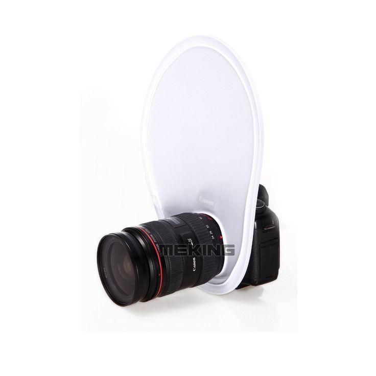 Ready Stock Meking Photography Flash lens Diffuser reflector for Canon Nikon Sony Olympus DSLR Camera lenses