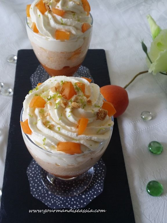 Mousse d'Abricot Mascarpone                                                                                                                                                                                 Plus