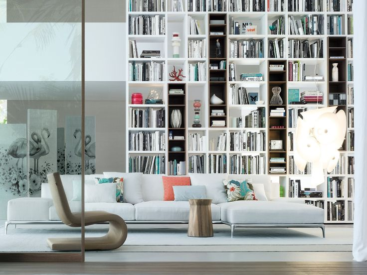 WALL SYSTEM Bookcase by Poliform  my favourite one