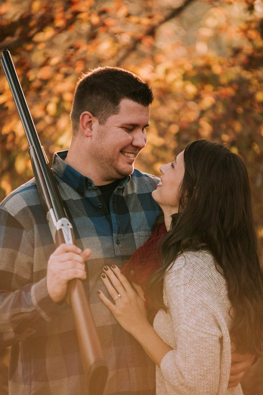 Danielle & Derek Wilkerson Engagement Photos by Jenna Gordon Photography