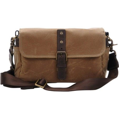 ONA Bowery Tan Small Shoulder Bag - Shoulder Bags - Bags - Bags & Tripods - Harrison Cameras