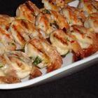 Foto recept: Scampi garnalen van de barbecue