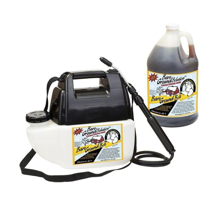 1 Gal. Battery Powered with Liquid Calcium Chloride Ice Melt Sprayer