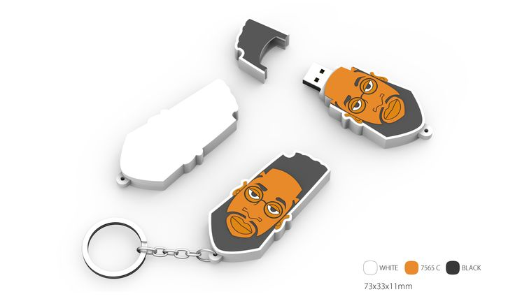 custom flash drive & keychain