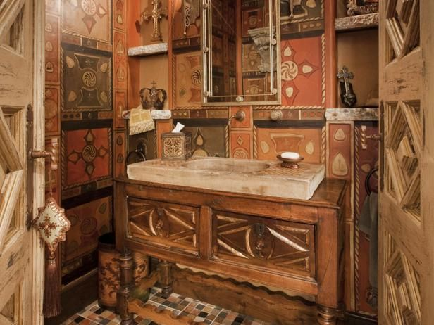 "old world bedrooms | Old World bathrooms are often characterized by traditional ""Old World ..."