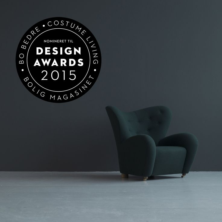 """We are thrilled to let you know that The Tired Man has been nominated for a Design Award in the category """"Comeback of the Year""""!  You can support by voting:  http://bobedre.dk/design-awards/stem-pa-din-favorit"""