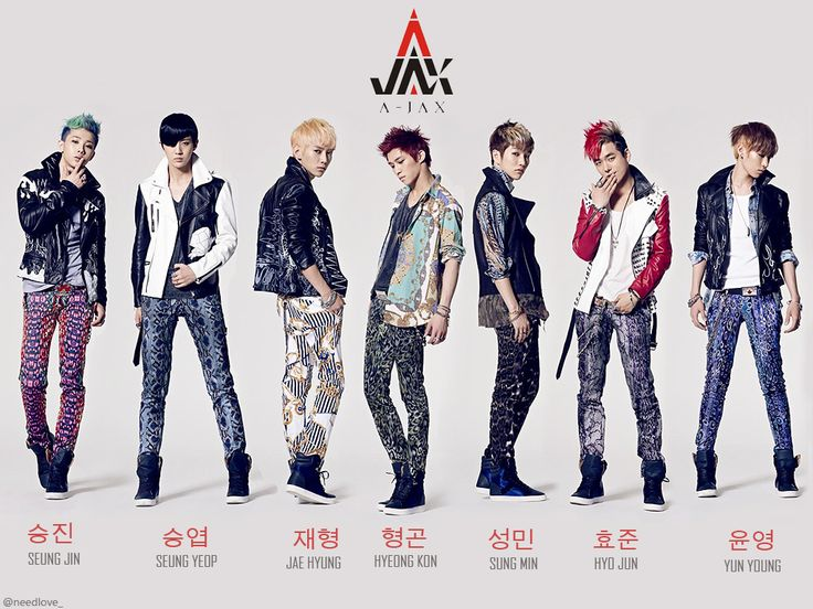 Pic Of A Jax Band Jax Is A South Korean Boy Band Signed
