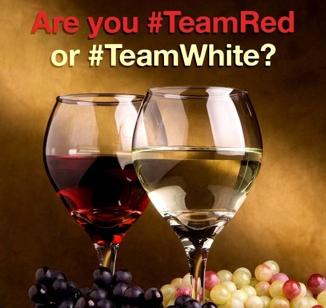 What else to do on #NationalDrinkWineDay than enjoy some good wine?  Are your team #RedWine or #WhiteWine?